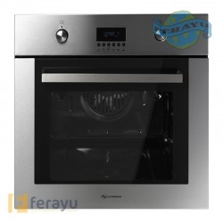 HORNO MULTIFUNCION INOX TURBO 61 L