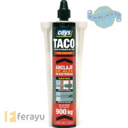 TACO QUIMICO POLIESTER 300 ML