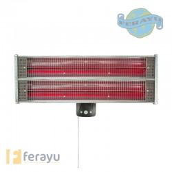 ESTUFA ELECTRICA EXT-INT SENSO 2400 W