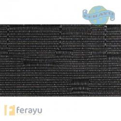 MANTEL INDIVIDUAL PVC NEGRO 49X36 CM