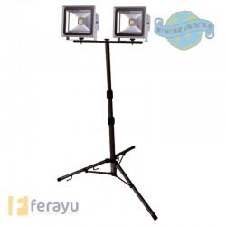 FOCO LED C/TRIPODE CABLE 5 MT 30 W