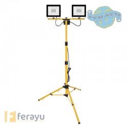 FOCO LED 2X50W IP65 C/TRIPODE 50 W