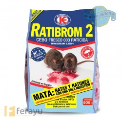 RATICIDA CEBO FRESCO 500 G