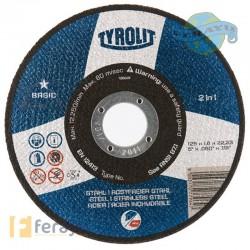 DISCO C RECTO METAL/INOX 230X1,9 MM