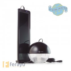 ILUMINACION SOLAR KIT BLACK