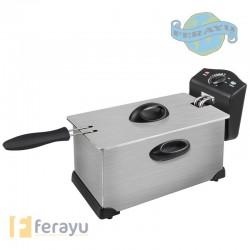 FREIDORA INOX 3 L 2000 W