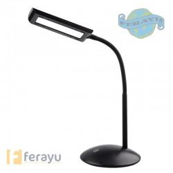 LAMPARA FLEXO LED NEGRA 5 W