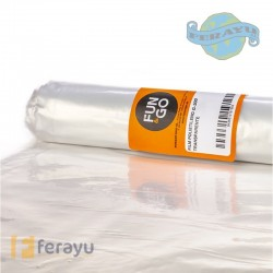 PLASTICO PROTECCION G200 TRANS 6X10 M