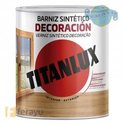 BARNIZ SATINADO INCOLORO 750 ML