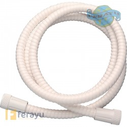 FLEXO DUCHA PVC REFORZ BLANCO 1,7 M