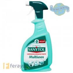 Limpiador desinfectante multiusos en pistola 750 ml (Sanytol)